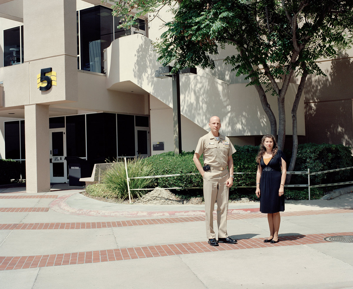 Captain Scott L Johnson, Clinical Psychologist and Director for Clinical Research, and Karen Perlman, Civilian and Research Psychologist
